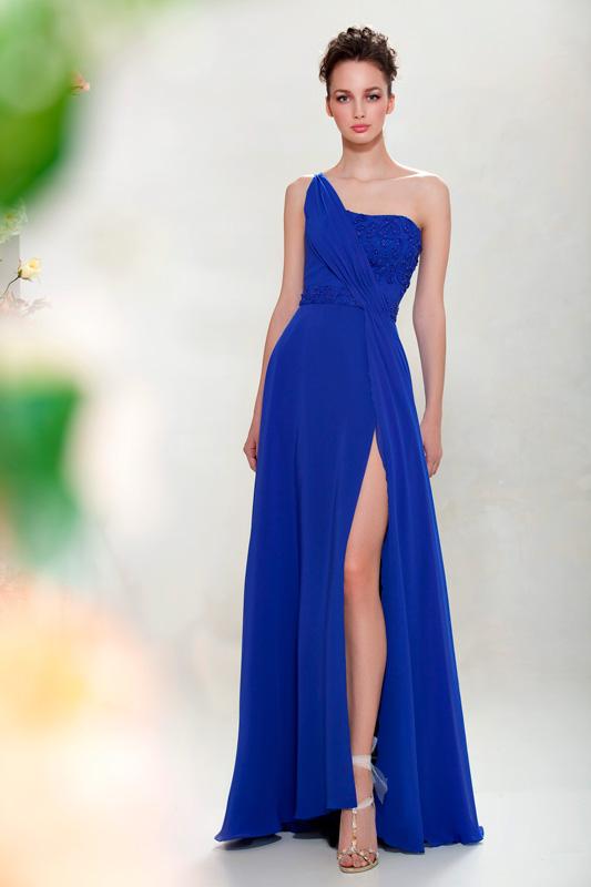 Flower Cocktail Evening Gowns - Papilio Boutique