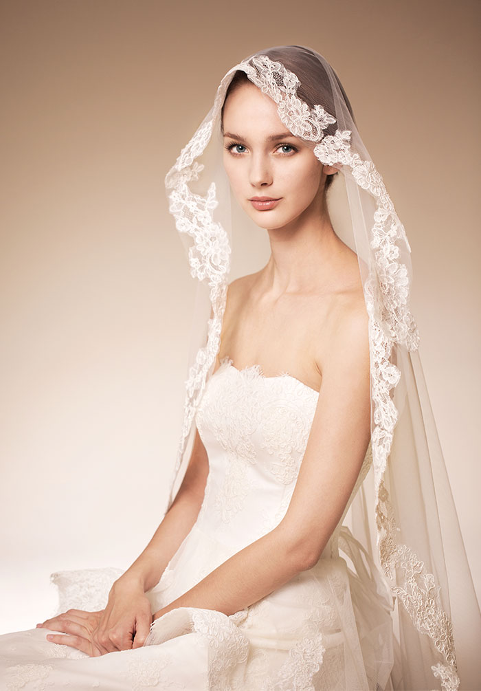Unique Bridal Veils and Accessories 2014 - Papilio Boutique