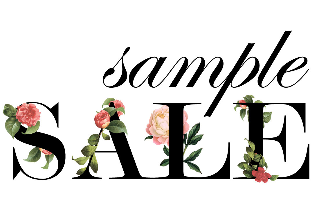Bridal Sample Sale