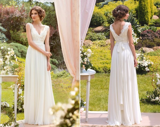 simple-wedding-dresses Papilio