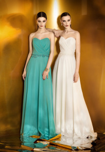 Style #900, strapless sweetheart neckline evening gown with beaded embroidery around the waist, available in berry, bright blue, mint, red, black, turquoise, orange, gray, ivory, purple, blue, powder, white, pink and peach