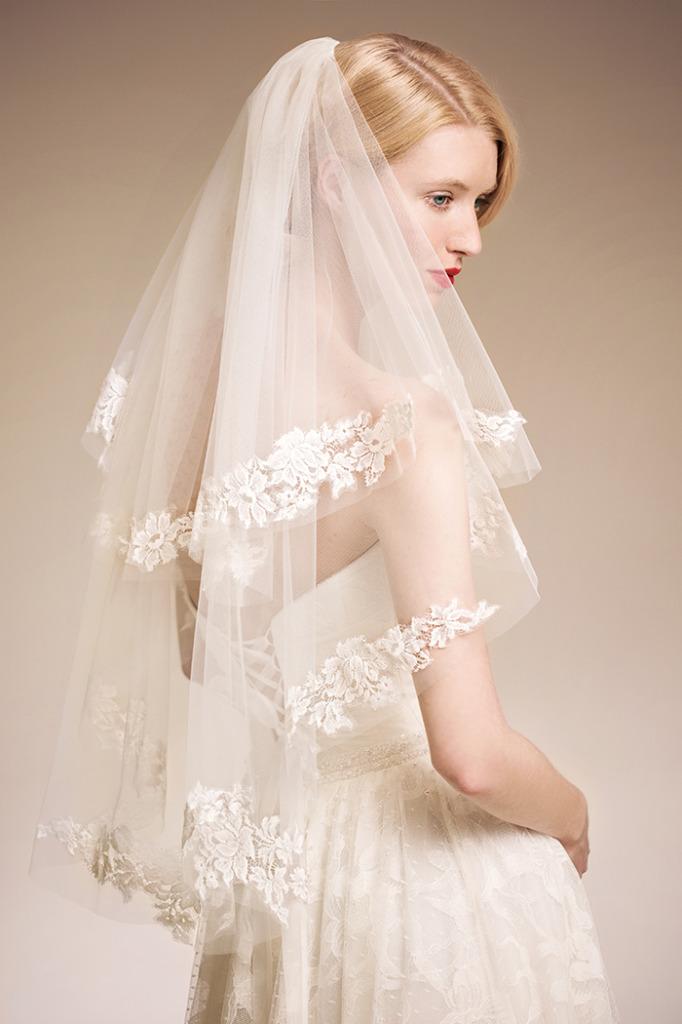 Unique Bridal Veils and Accessories 2014