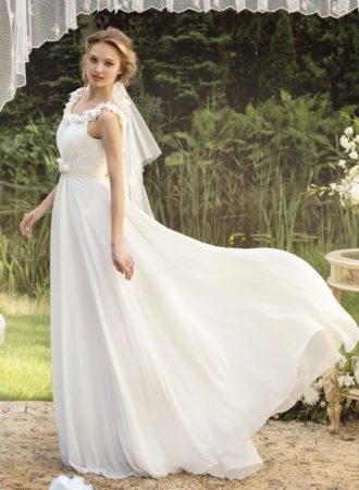 819-sheath-style-wedding-dress-with-draped-front-and-adorned-straps-and-neckline