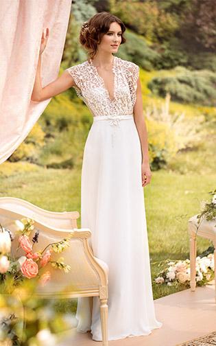 Simple Wedding Dresses - Papilio Boutique