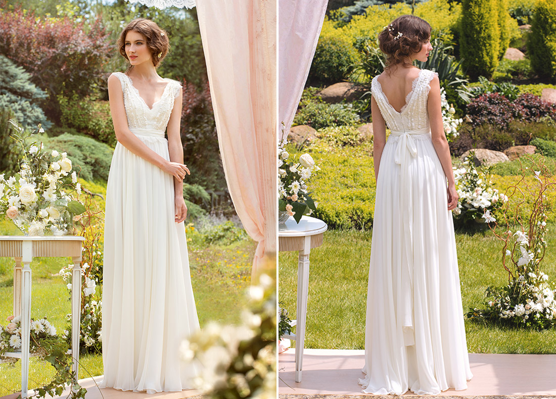 Simple wedding dresses papilio boutique for Wedding dress stores in arkansas