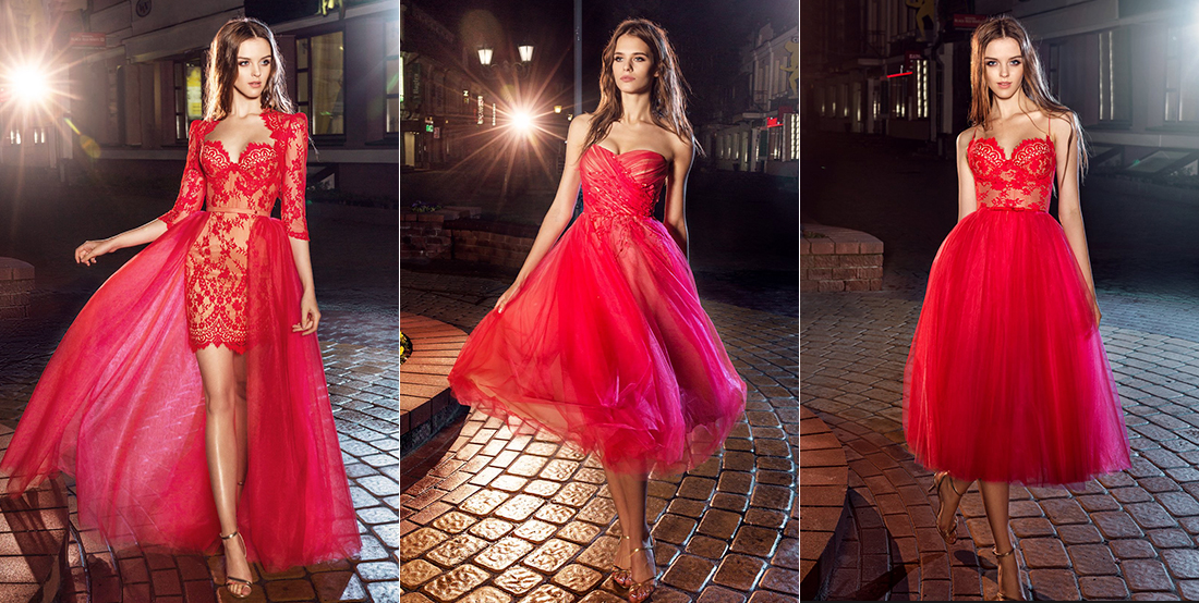 When In Doubt Wear Red Red Evening Gowns From Papilio Boutique