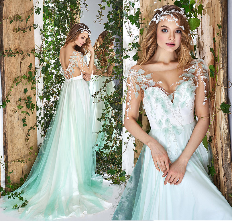 5 things you should know about unique wedding dress papilio boutique unique wedding dress papilio green wedding dress junglespirit Image collections