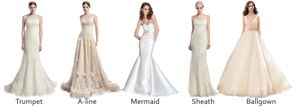 wedding-dress-silhouttes-papilio-boutique