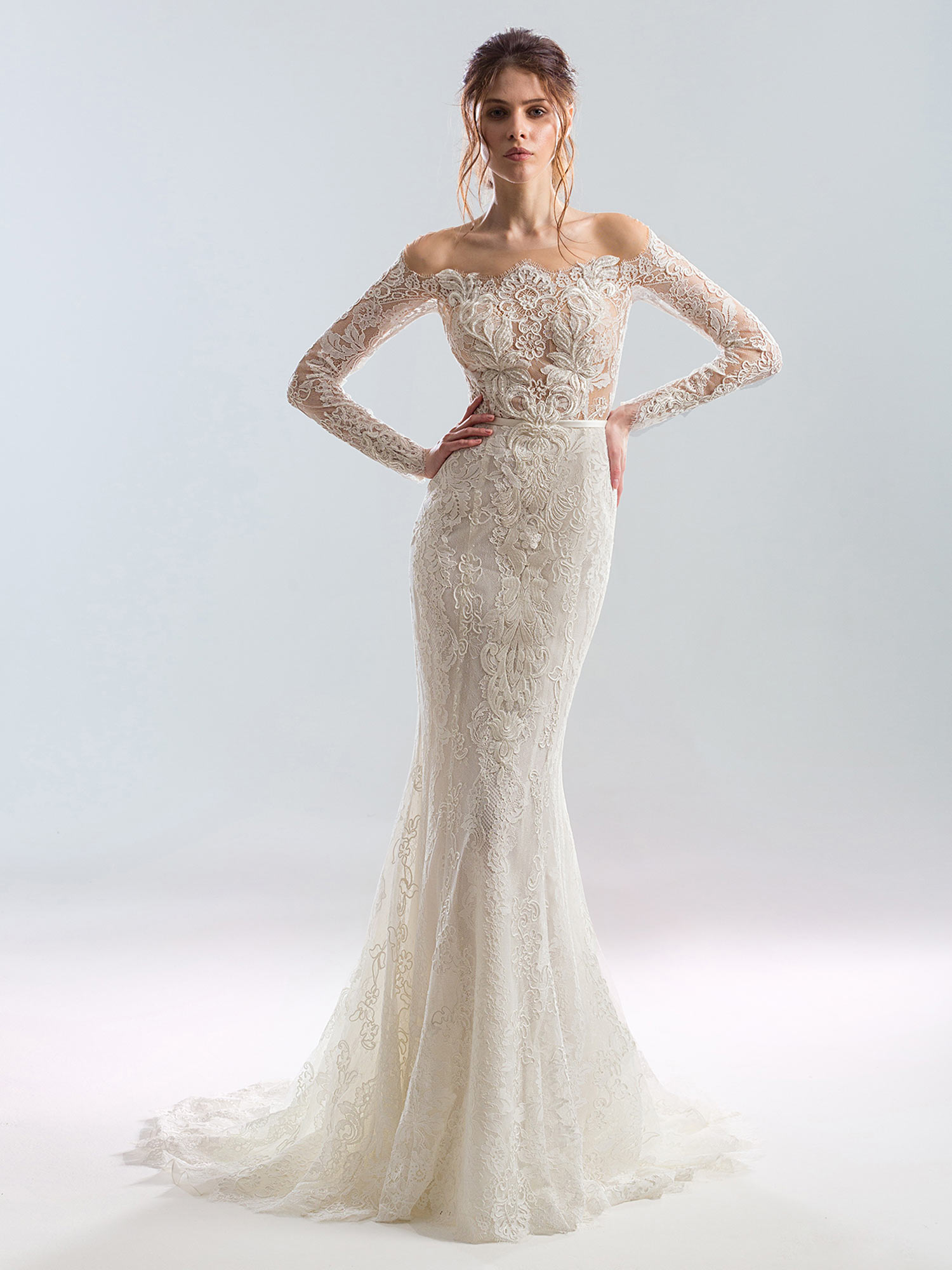 Style #1905L, available in ivory