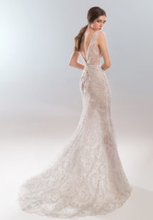 Style #1923L, available in ivory with nude lining (photo), ivory