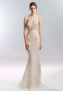 Style #1927L, available in dark ivory (photo), ivory