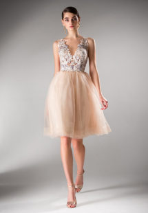 Style #425a, available in ivory, peach, purple