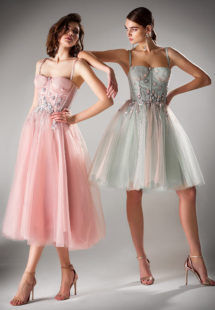 Style #440a, Style #440b, available in pink, gray, light green