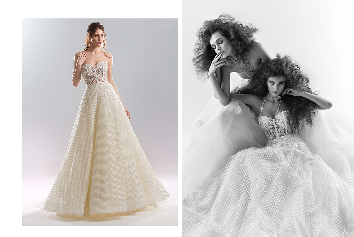 corset-wedding-dresses - 2019 wedding dress trends