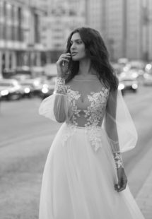 Style #11939, available in ivory, ivory-nude