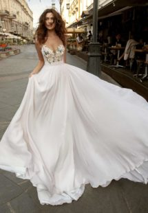 Style #11941, available in ivory-pink