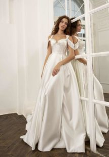 Style #11949, available in ivory, white