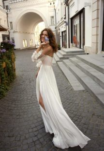 Style #11950, available in ivory-pink, ivory