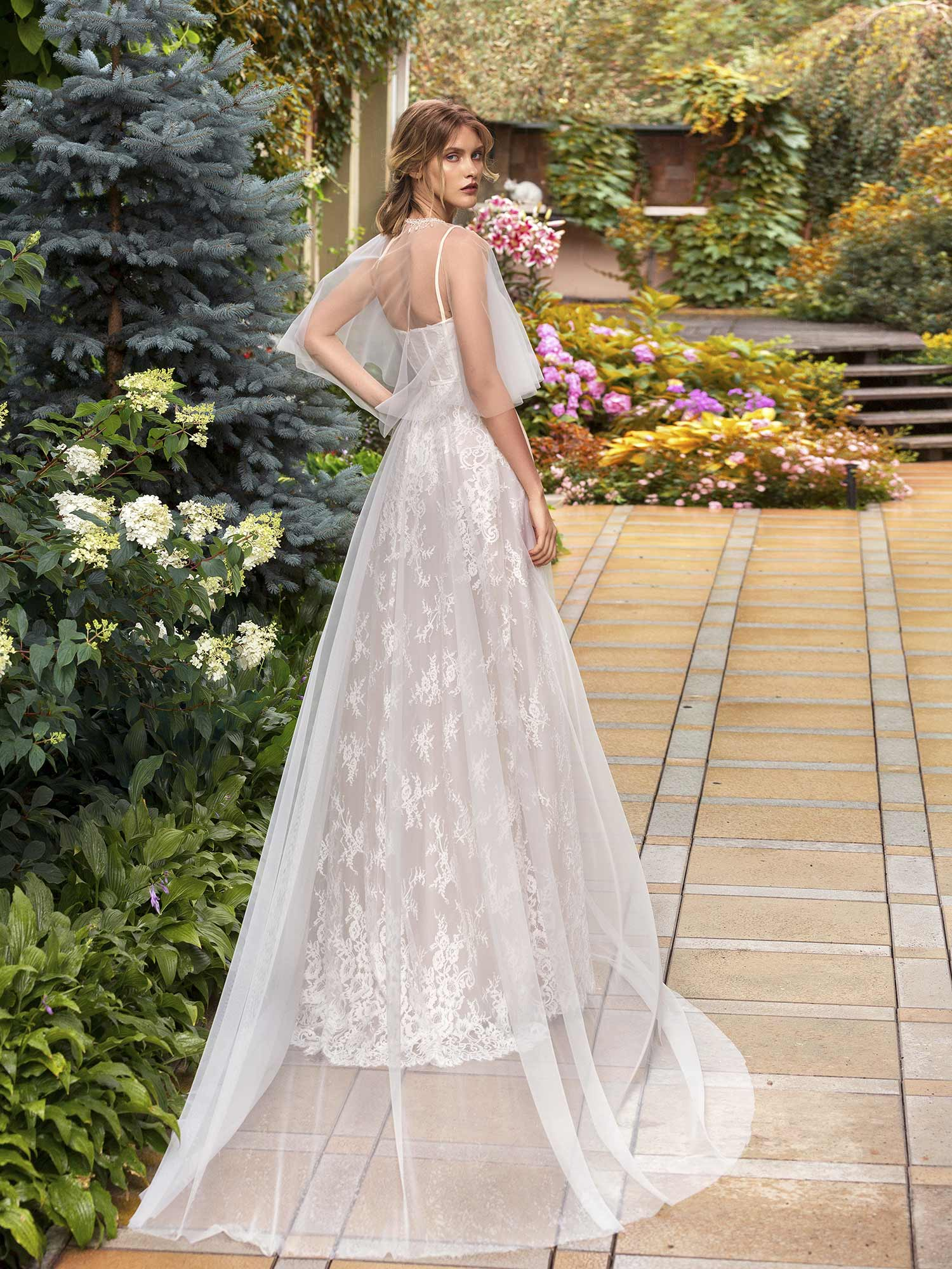 Style #19-2004, available in ivory, ivory-blush