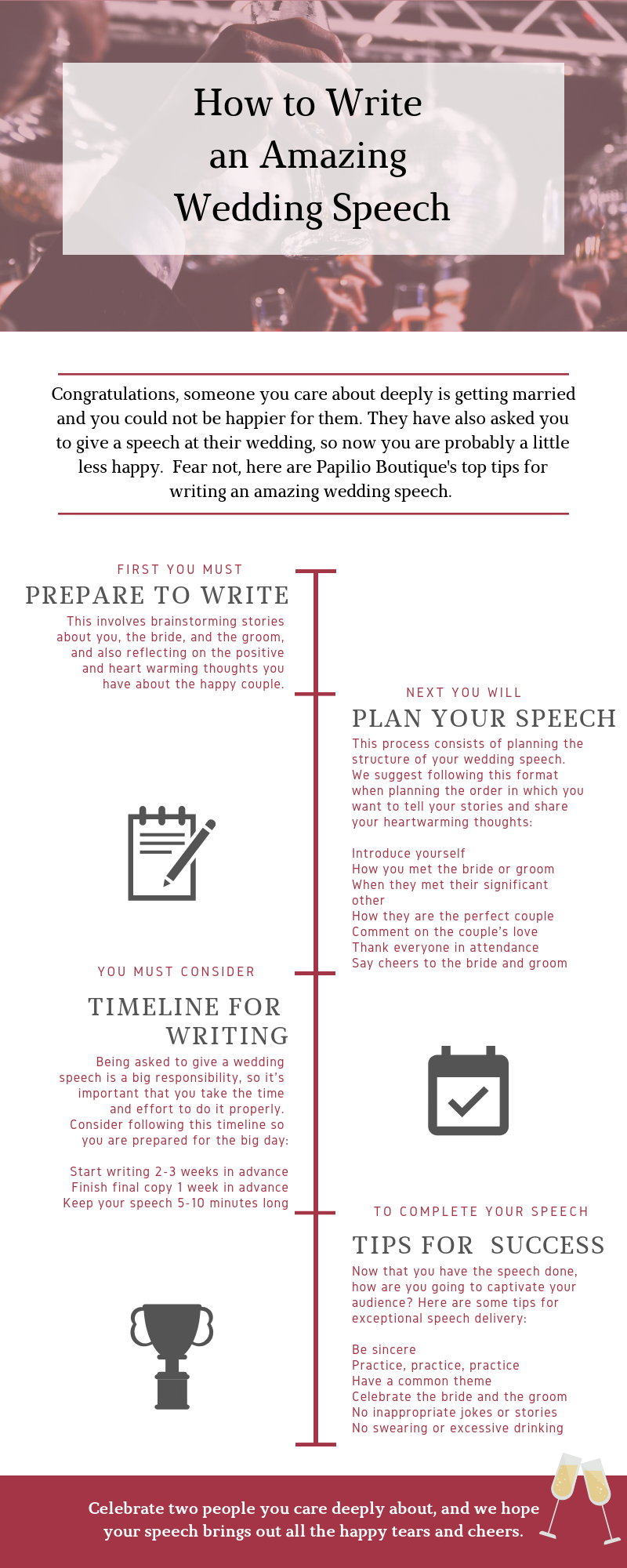 How to Write an Amazing Wedding Speech