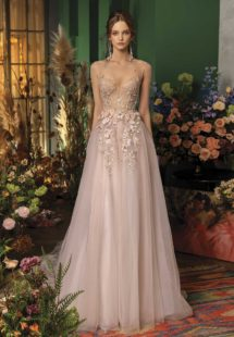 Style #2025aL, available in nude-pink, ivory -pink