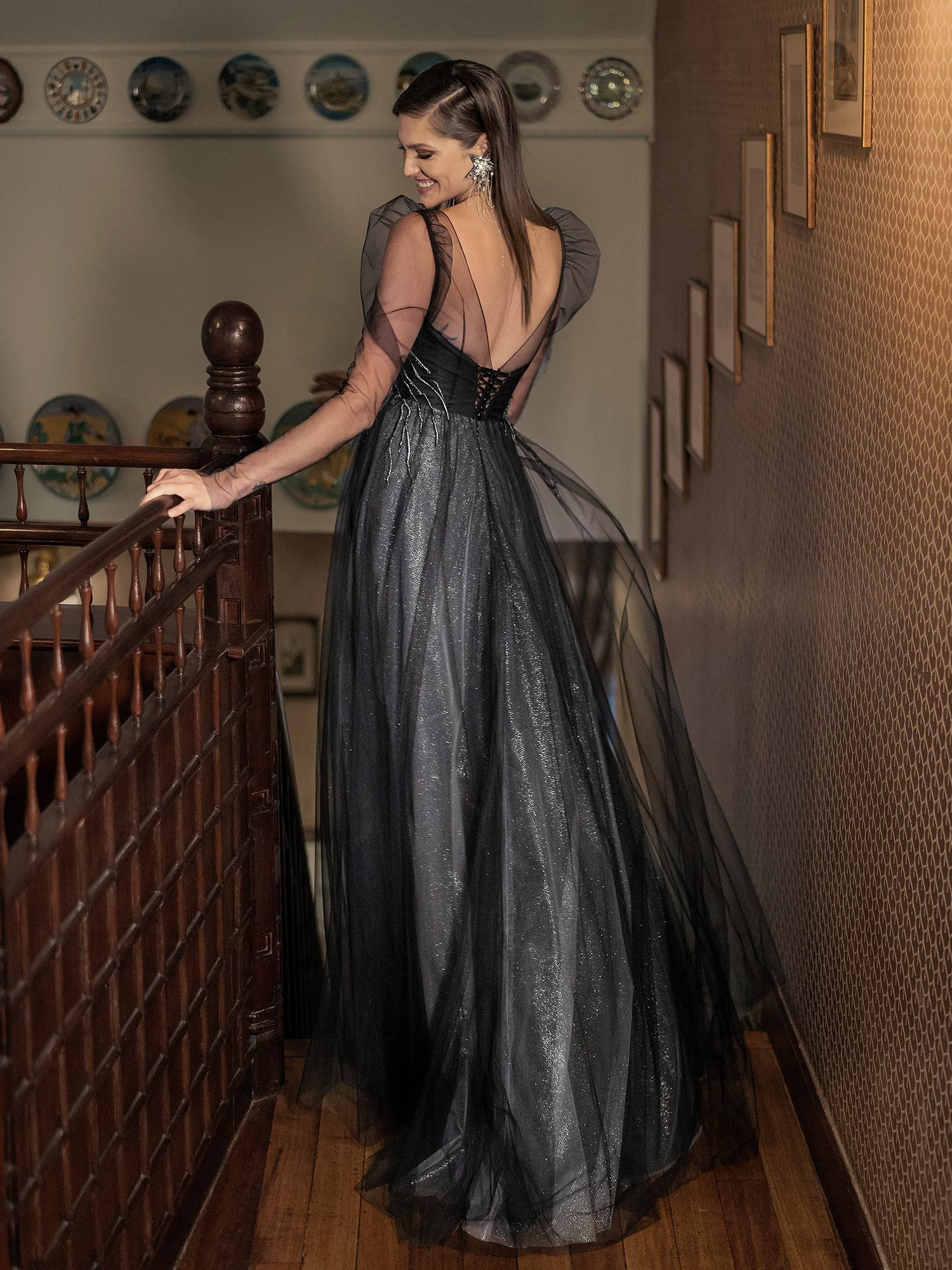 Style #603, available in pink, azure, black, ivory, purple, cherry, powder, grey-blue