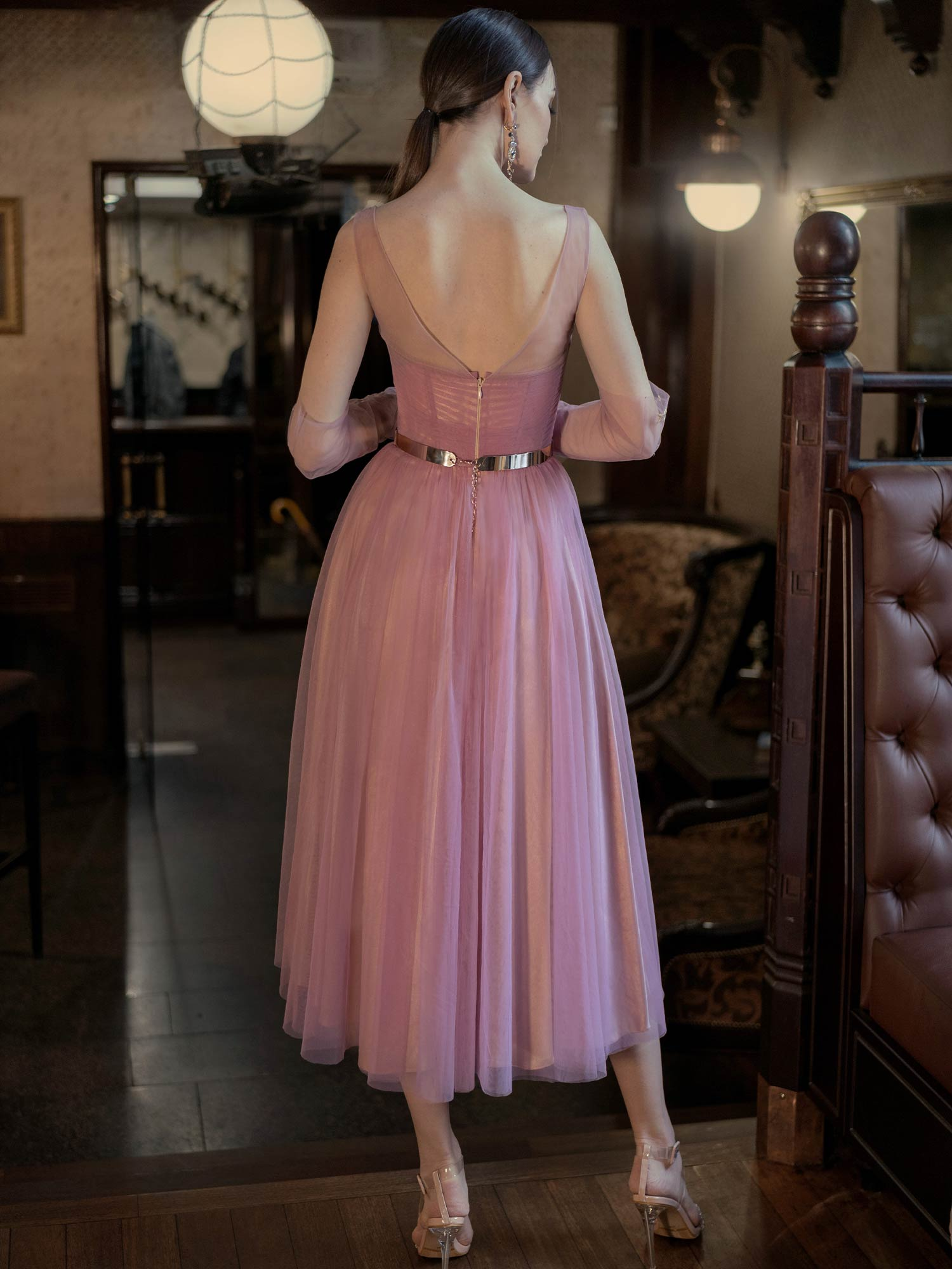 Style #623b, available in nude-azure, nude-powder, nude-cherry, nude-black, nude-blue, nude-pink, nude-ivory, nude-purple