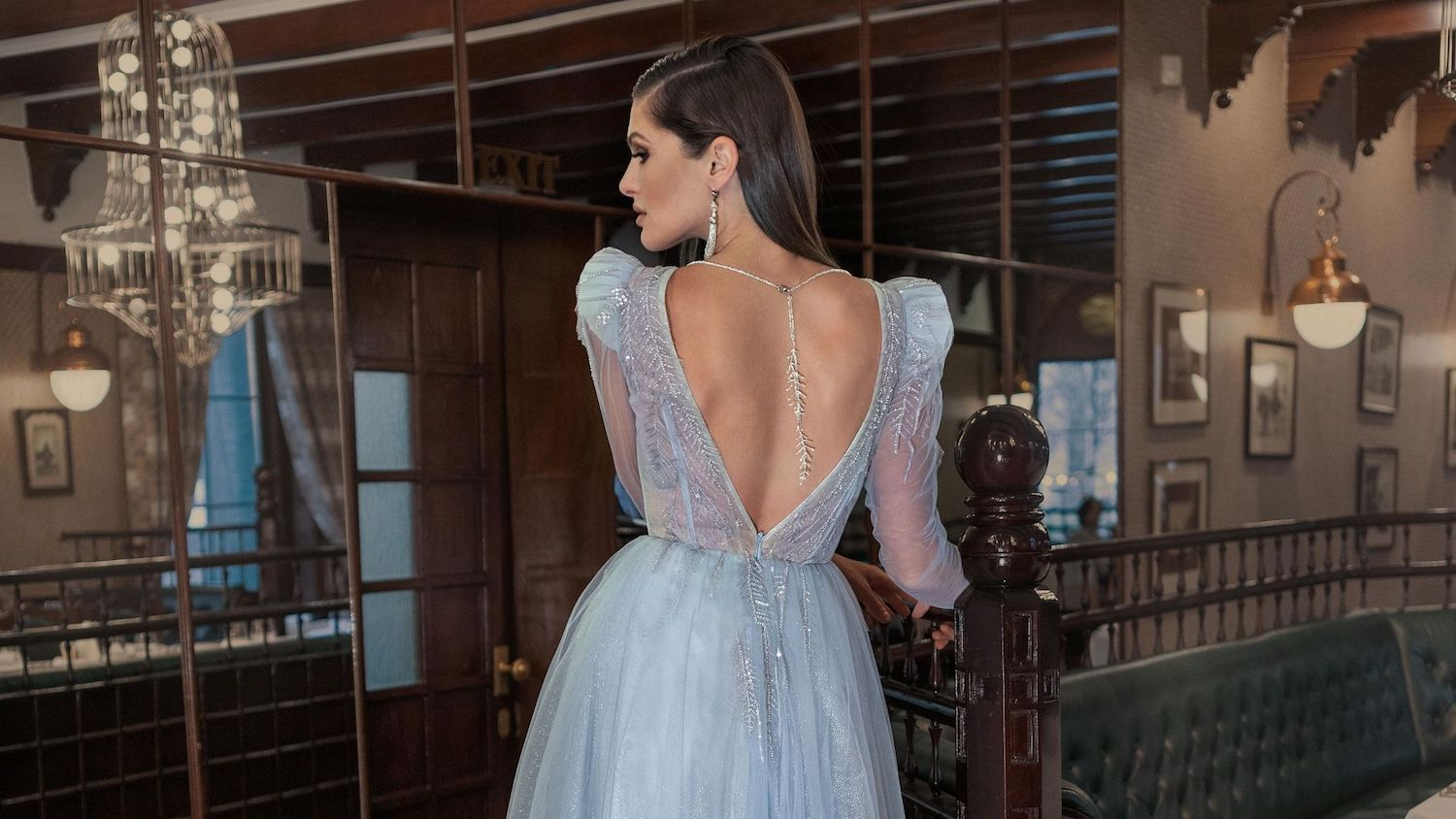 Papilio Blue dresses with open back