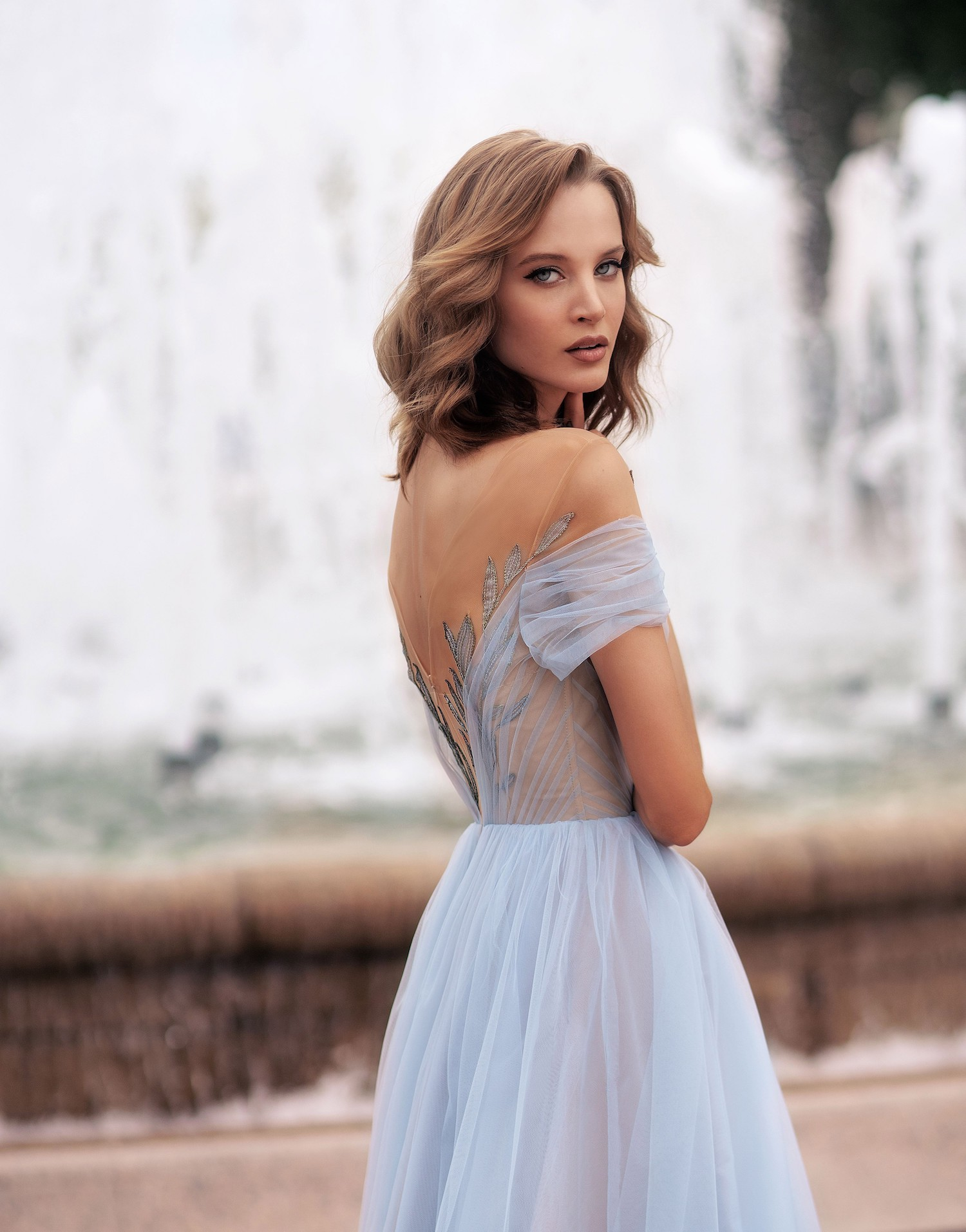Blue wedding dresses - Papilio