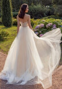 Style #13010, available in ivory-nude, ivory