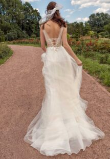 Style #13018, available in ivory-nude, ivory