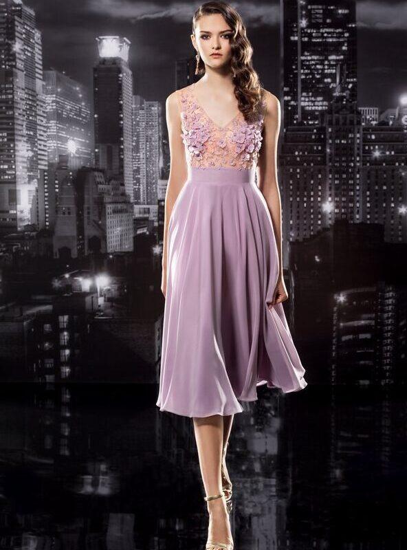 Reg.price $710 | Size 42 European | Lavender | Floor-length